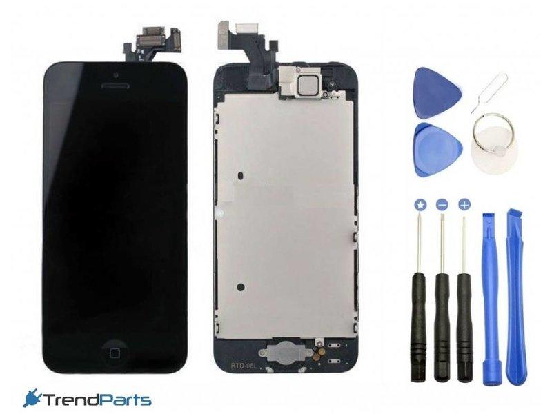 Voorgemonteerd compleet scherm voor Apple iPhone 5C Zwart/Black AAA+ kwaliteit LCD + Tools