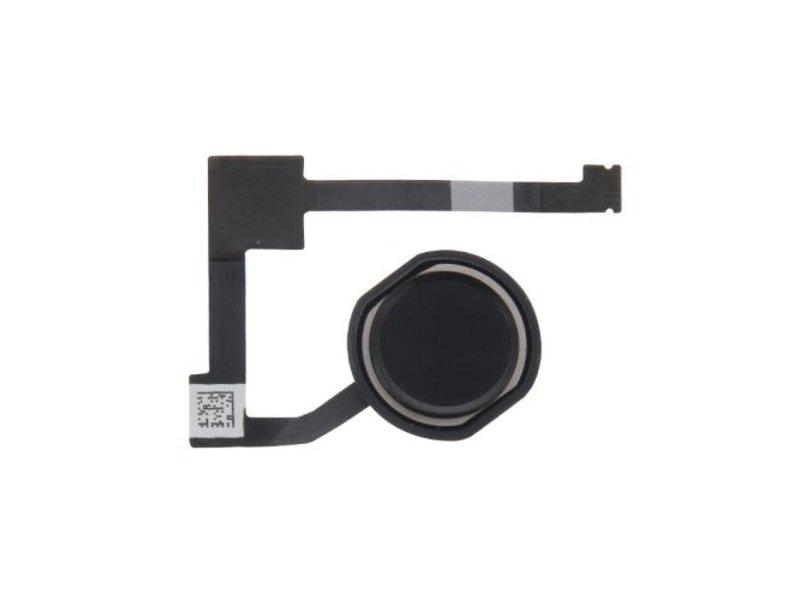 Home button voor Apple iPad Air 2 Zwart / Black thuisknop reparatie onderdeel