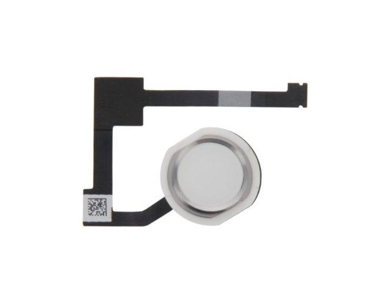 Home button voor Apple iPad Air 2 Zilver / Silver thuisknop reparatie onderdeel