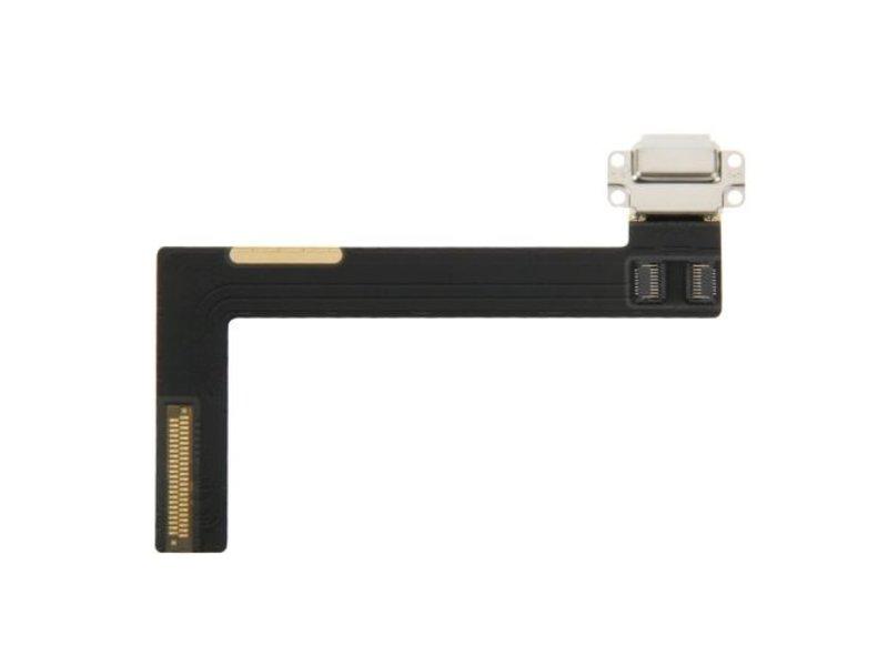 Charging dock lightning port voor Apple iPad Air 2 oplaadpoort Wit / White reparatie onderdeel