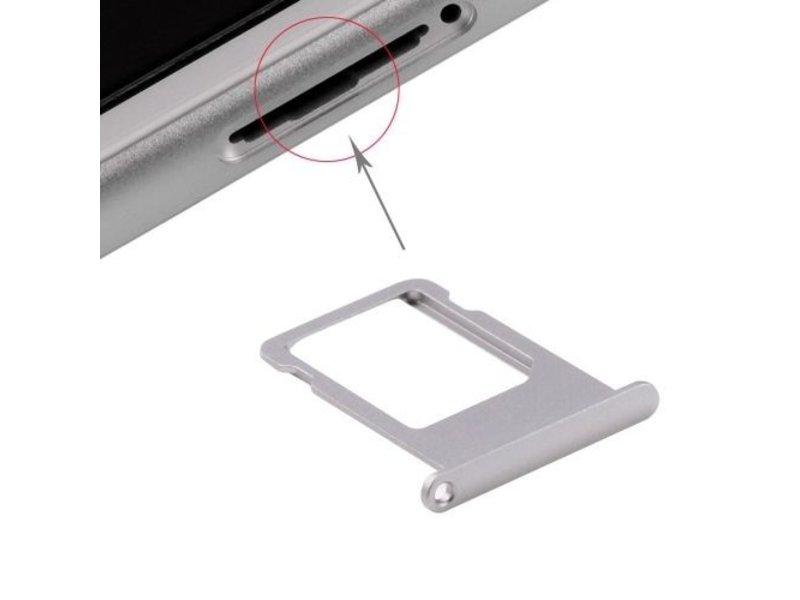 Simkaart sim tray voor Apple iPhone 6 PLUS (+) Grijs / Grey simkaarthouder reparatie onderdeel