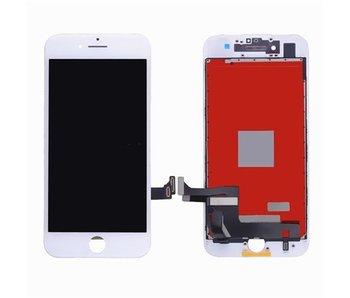 Compleet AAA+ kwaliteit LCD scherm met touchscreen voor Apple iPhone 7 WIT (white)