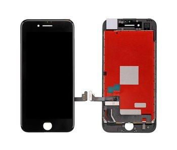 Compleet AAA+ kwaliteit LCD scherm met touchscreen voor Apple iPhone 7 Zwart (black)
