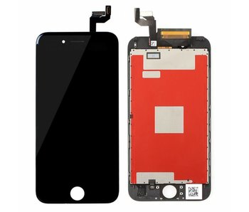 Scherm voor Apple iPhone 6S ZWART compleet AAA+ kwaliteit LCD (black)