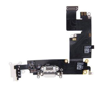 Dock connector voor Apple iPhone 6 PLUS (+) Wit/White lightning oplaadpoort flex reparatie onderdeel