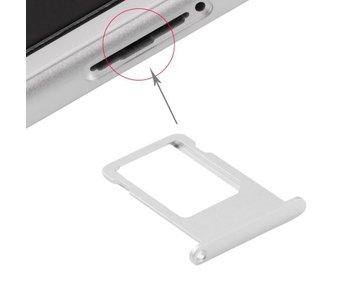 Simkaart houder voor Apple iPhone 6S Zilver / Silver simkaarthouder reparatie onderdeel