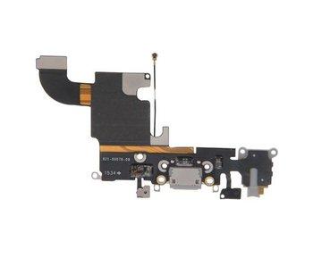 Dock connector voor Apple iPhone 6S Grijs / Zwart lightning oplaadpoort flex reparatie onderdeel