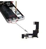 Dock connector voor Apple iPhone SE Wit / White lightning oplaadpoort flex reparatie onderdeel