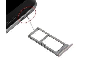 Simkaart houder voor Samsung Galaxy S7 EDGE Goud / Gold simkaarthouder reparatie onderdeel