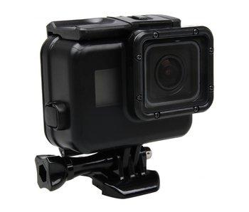 Waterproof behuizing voor GoPro Hero 6 / 5 - 30M case Zwart / Black