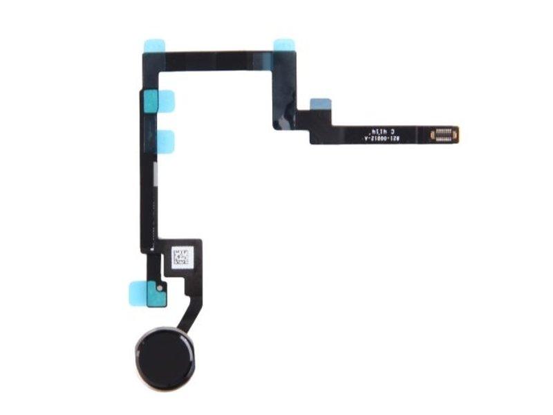 Home button voor Apple iPad Mini 3 Zwart / Black thuisknop reparatie onderdeel