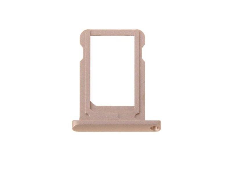 Simkaart houder voor Apple iPad Mini 4 (WiFi) Goud / Gold reparatie onderdeel