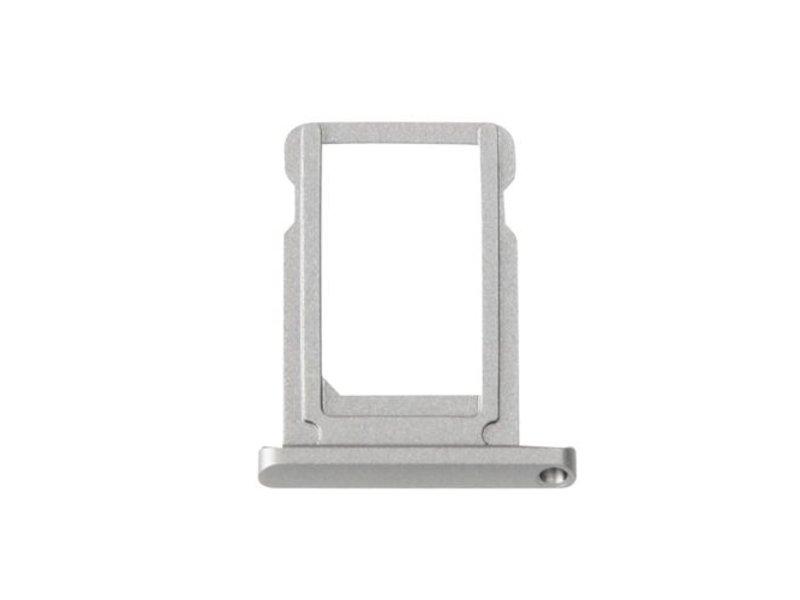 Simkaart houder voor Apple iPad Mini 4 (WiFi) Grijs / Grey reparatie onderdeel