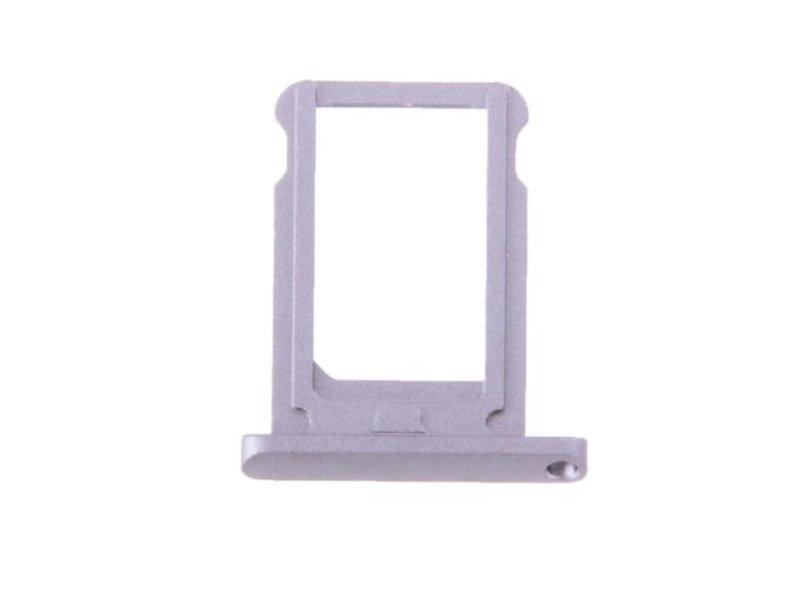 Simkaart houder voor Apple iPad Mini 4 (WiFi) Zilver / Silver reparatie onderdeel