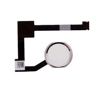 Home button voor Apple iPad Mini 4 Zilver/Silver thuisknop reparatie onderdeel