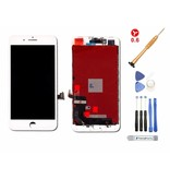 Compleet LCD scherm voor iPhone 8 PLUS WIT - AAA+ kwaliteit + Tools