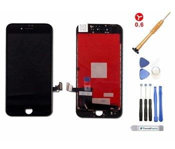 Compleet LCD scherm voor iPhone 8 ZWART - AAA+ kwaliteit + Tools