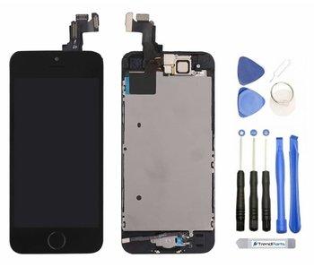 Voorgemonteerd compleet scherm voor Apple iPhone 5S Zwart/Black AAA+ kwaliteit LCD + Tools