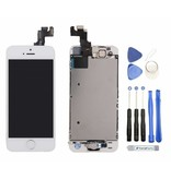 Voorgemonteerd compleet scherm voor Apple iPhone 5S Wit/White AAA+ kwaliteit LCD + Tools