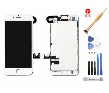 Compleet voorgemonteerd scherm voor iPhone 7 PLUS WIT AAA+ kwaliteit incl. Tools + Screenprotector