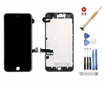 Compleet voorgemonteerd scherm voor iPhone 7 PLUS ZWART AAA+ kwaliteit incl. Toolkit + Screenprotector