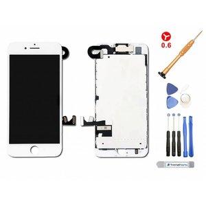 Kant en klaar compleet voorgemonteerd LCD scherm voor iPhone 7 PLUS WIT AAA+ kwaliteit + Toolkit