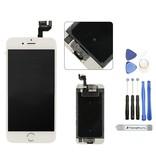Compleet voorgemonteerd scherm voor iPhone 6S PLUS WIT AAA+ kwaliteit incl. Tools + Screenprotector