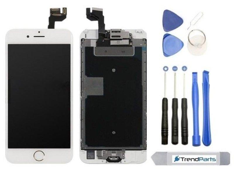 Voorgemonteerd compleet scherm voor Apple iPhone 6S Wit/White - AAA+ 4.7'' LCD + Tools + Tempered glass