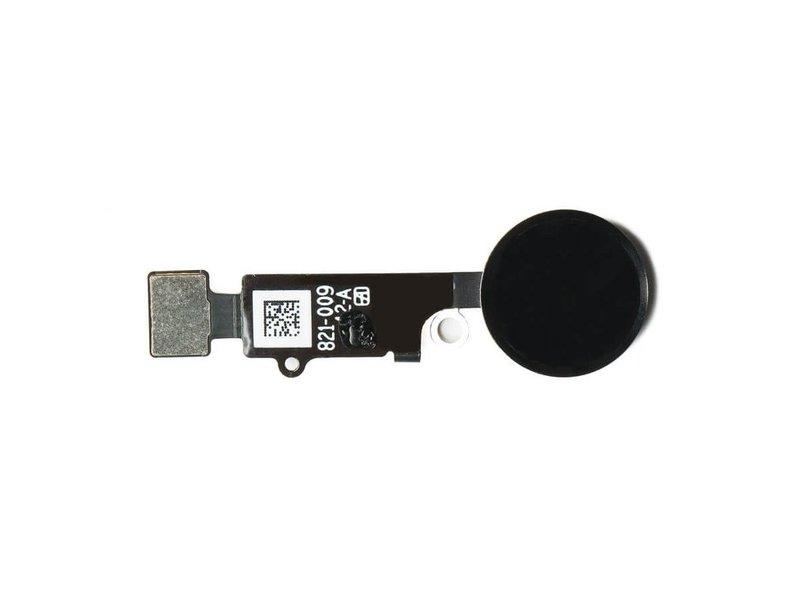 Home button voor Apple iPhone 7 PLUS Zwart / Black thuisknop reparatie onderdeel