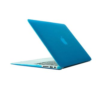 Macbook Air 11 inch Premium hard case cover laptop hoes hardshell Baby Blauw