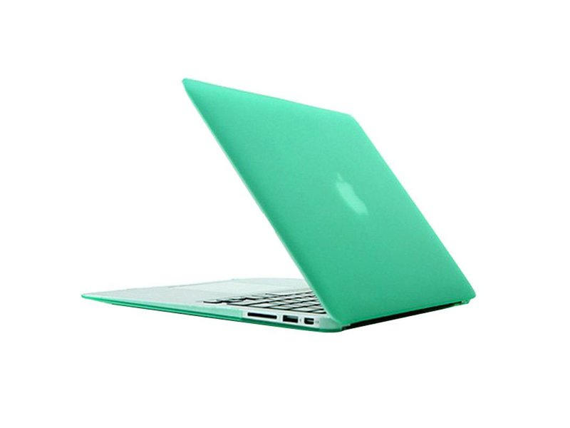 Macbook Air 11 inch premium hard case cover laptop hoes hardshell Groen/Green