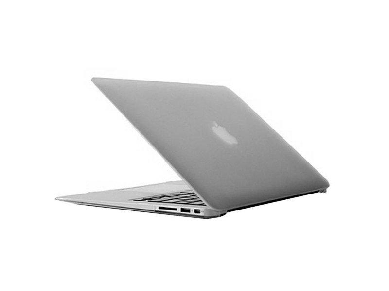 Macbook Air 13 inch premium bescherming hard case cover laptop hoes hardshell Transparant/Doorzichtig