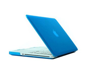 Macbook Pro 13 inch premium hard case cover laptop hoes hardshell Baby Blauw