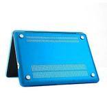 Macbook Pro 13 inch Premium Bescherming Hard Case Cover Laptop Hoes hardshell Baby Blauw