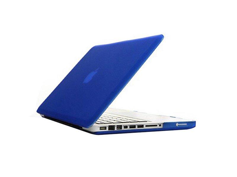 Macbook Pro 13 inch Premium Bescherming Hard Case Cover Laptop Hoes hardshell Blauw/Blue