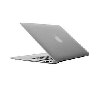 Macbook Pro 13 inch premium hard case cover laptop hoes hardshell Grijs/Grey