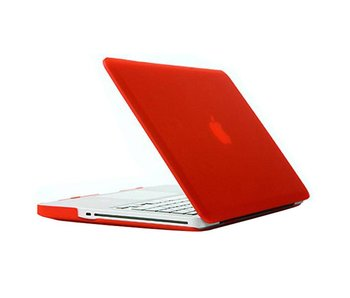 Macbook Pro 13 inch premium hard case cover laptop hoes hardshell Rood/Red