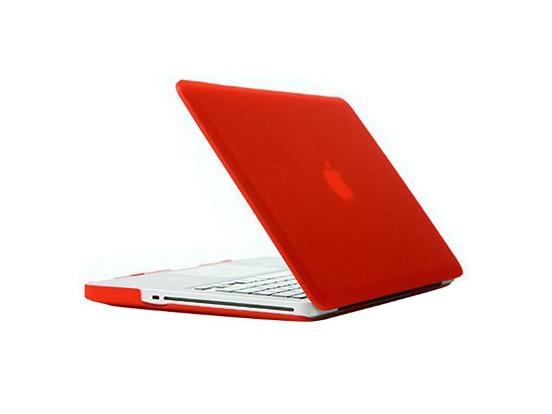 Macbook Pro 13 inch Premium Bescherming Hard Case Cover Laptop Hoes hardshell Rood/Red