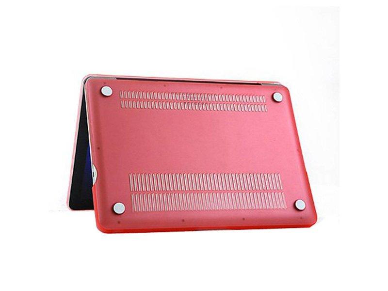 Macbook Pro 13 inch Premium Bescherming Hard Case Cover Laptop Hoes hardshell Roze/Pink