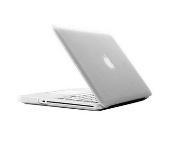 Macbook Pro 13 inch premium hard case cover laptop hoes hardshell Transparant/Doorzichtig