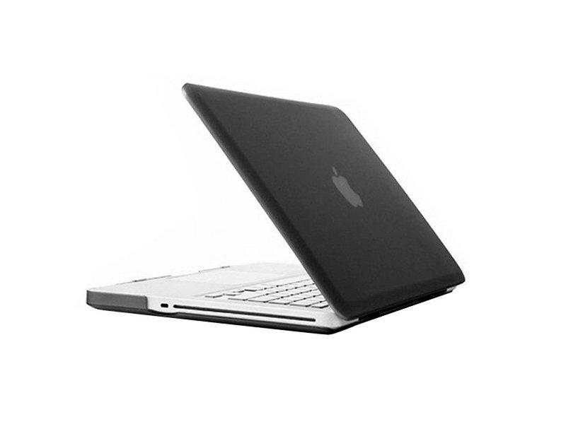 Macbook Pro 13 inch Premium Bescherming Hard Case Cover Laptop Hoes hardshell Zwart/Black