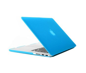 Macbook Pro Retina 13 inch premium hard case cover laptop hoes hardshell Baby Blauw
