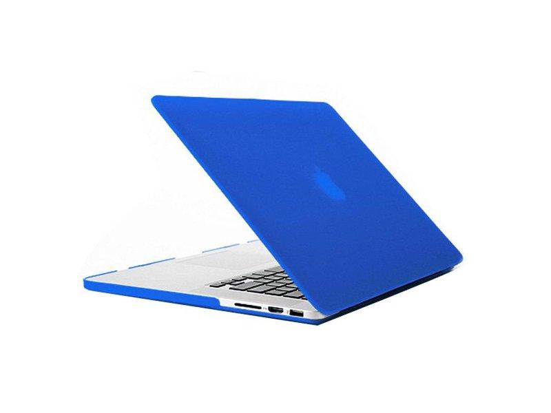 Macbook Pro Retina 15 inch Premium Bescherming Hard Case Cover Laptop Hoes hardshell Blauw/Blue