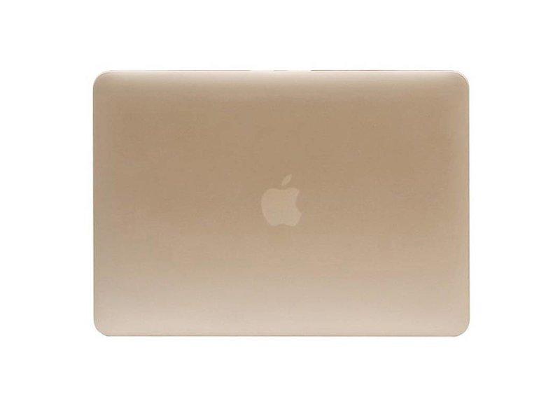 Macbook Pro Retina 15 inch Premium Bescherming Hard Case Cover Laptop Hoes hardshell Gold/Goud