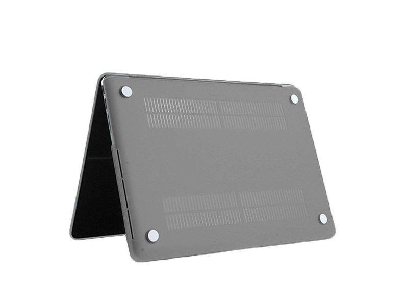 Macbook Pro Retina 15 inch Premium Bescherming Hard Case Cover Laptop Hoes hardshell Grijs/Grey