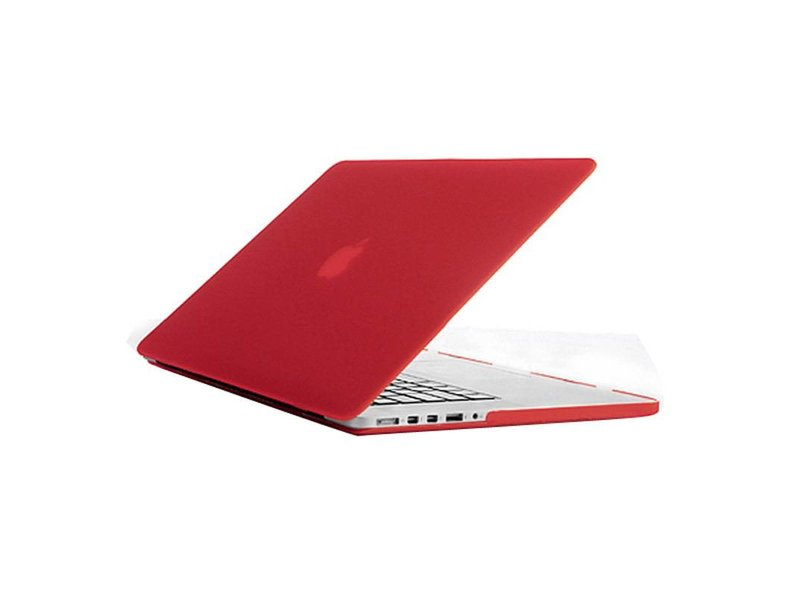 Macbook Pro Retina 15 inch Premium Bescherming Hard Case Cover Laptop Hoes hardshell Rood/Red