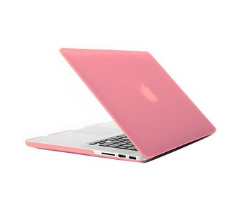 Macbook Pro Retina 15 inch premium hard case cover laptop hoes hardshell Roze/Pink