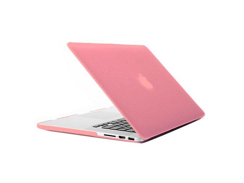 Macbook Pro Retina 15 inch Premium Bescherming Hard Case Cover Laptop Hoes hardshell Roze/Pink