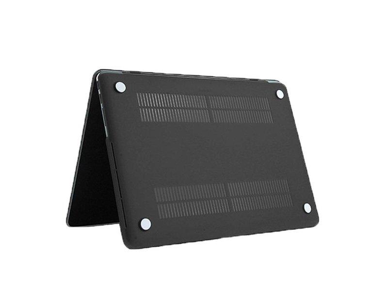 Macbook Pro Retina 15 inch Premium Bescherming Hard Case Cover Laptop Hoes hardshell Zwart/Black
