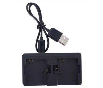 Dual Charger/Oplader voor batterij GoPro Hero 4 / 3 +/ 3 externe oplader accu
